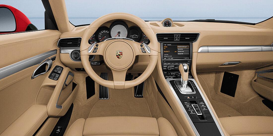 Porsche 911 (991) Cockpit