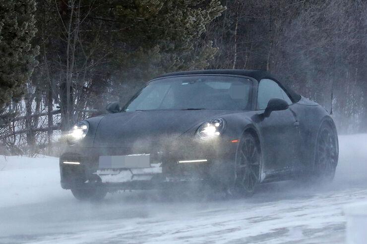 Porsche 911 Cabrio Erlkönig