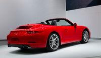 Porsche 911 Cabrio auf der Detroit Motor Show