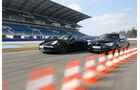 Porsche 911 Carrera 4, BMW M135i xDrive, Seitenansicht