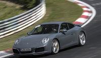 Porsche 911 Carrera 4S auf der Nordschleife
