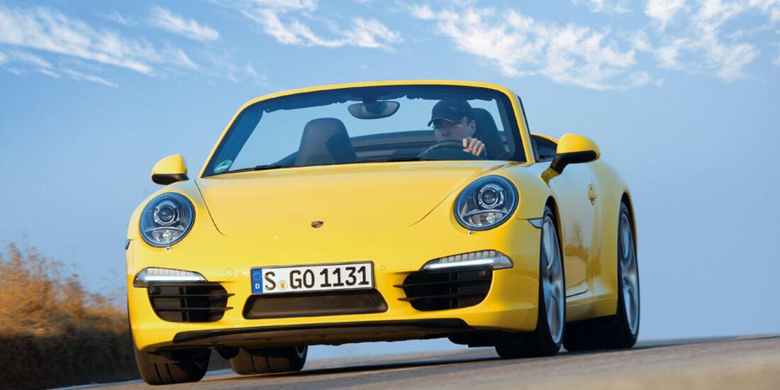 Porsche 911 Carrera Cabriolet, Frontansicht