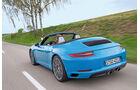 Porsche 911 Carrera Cabriolet, Heckansicht