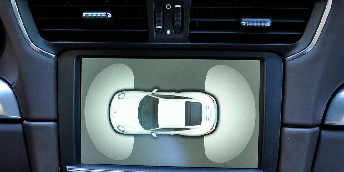 Porsche 911 Carrera, Einparkhilfe