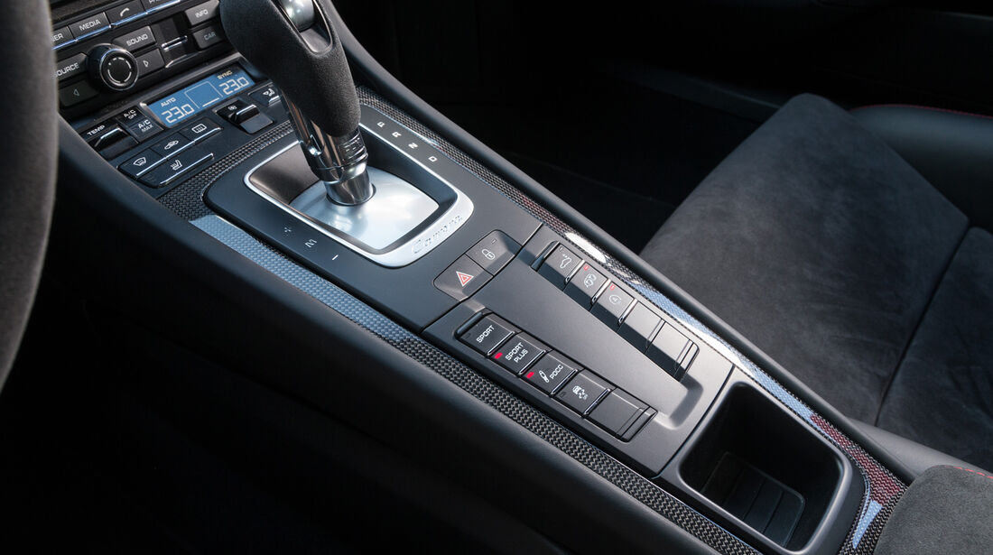 Porsche 911 Carrera GTS, Schalthebel