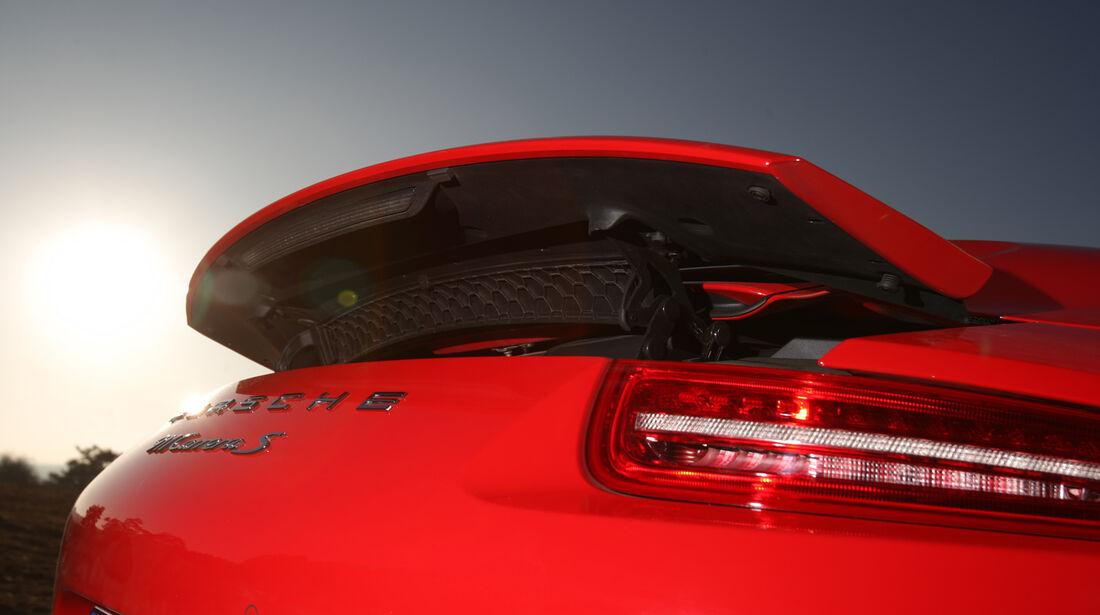 Porsche 911 Carrera S Cabrio, Heckspoiler