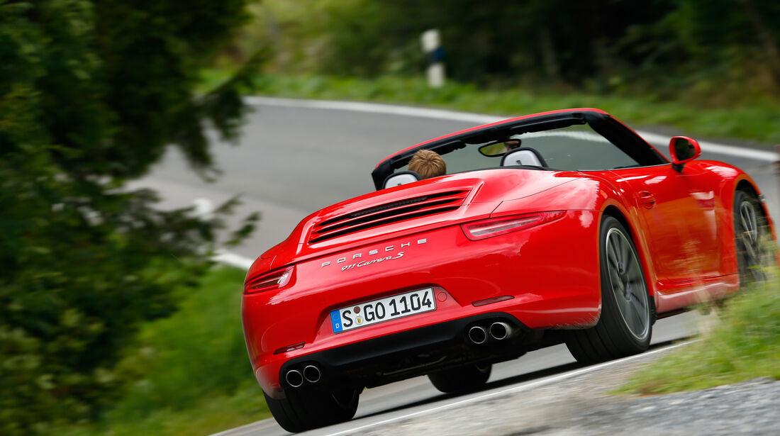 Porsche 911 Carrera S Cabriolet, Heckansicht