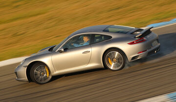 Porsche 911 Carrera S, Seitenansicht