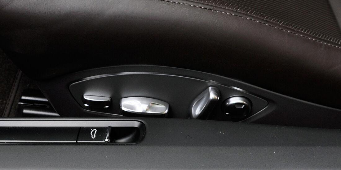 Porsche 911 Carrera, Sitzeinstellung
