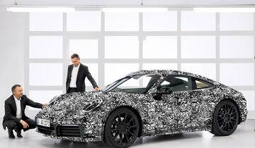 Porsche 911 Erlkönig Werk
