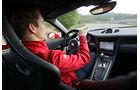 Porsche 911 GT3, Cockpit, Lenkrad