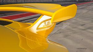 Porsche 911 GT3, Heckflügel