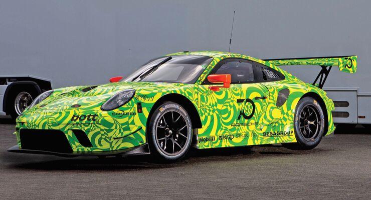 Porsche 911 GT3 R - Grello - Manthey Racing - 2018 - VLN 5