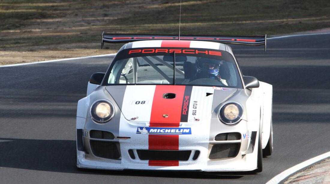 Porsche 911 GT3 R, Rennwagen, Nürburgring