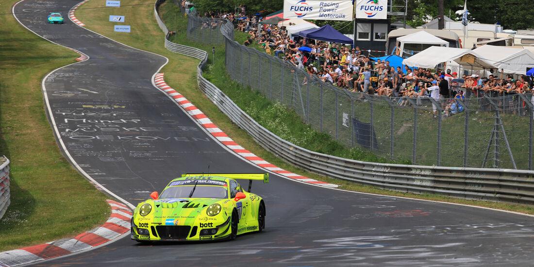 Porsche 911 GT3 R - Startnummer #911 - 24h-Rennen Nürburgring - Nordschleife - Samstag - 12.5.2018