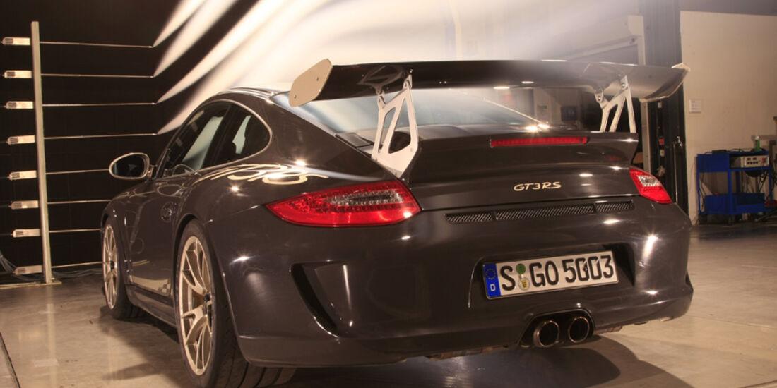 Porsche 911 GT3 RS Windkanal