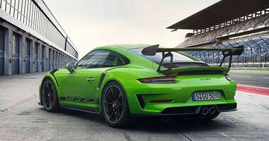 Porsche 911 GT3 RS leaked