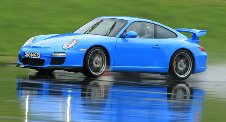 Porsche 911 GT3 im Supertest: Neuer Straßensportler setzt Bestmarke ...