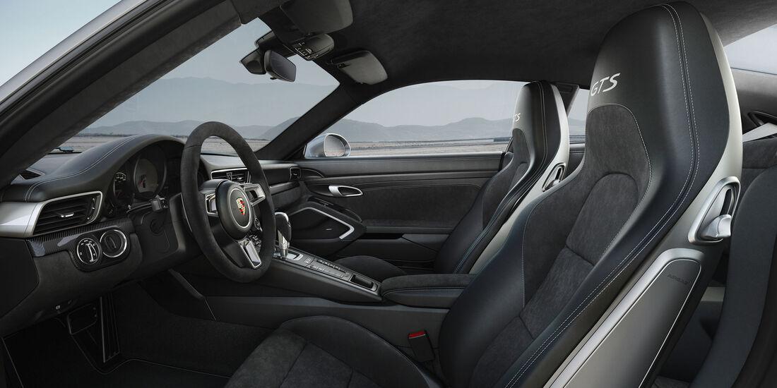 Porsche 911 GTS - Coupé - Sportwagen - Turbo - Heckmotor
