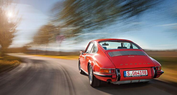 Porsche 911, Heckansicht