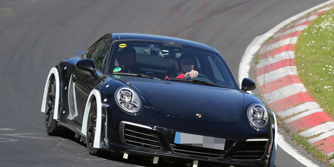 Porsche 911 Muletto Erlkönig