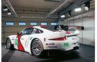 Porsche 911 RSR, Heckansicht