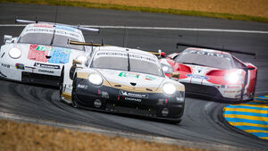Porsche 911 RSR - Startnummer #92 - 24h-Rennen Le Mans - Samstag - 15.06.2019