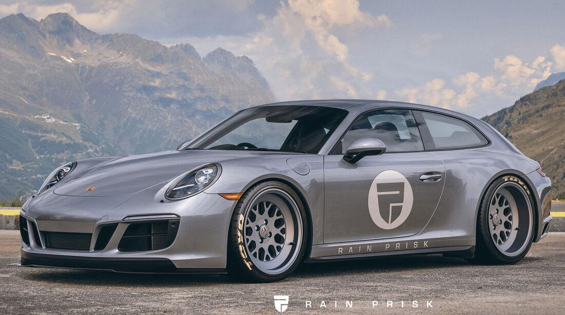 Porsche 911 Shooting Brake - Design-Konzept - Grafikkünstler Rain Prisk