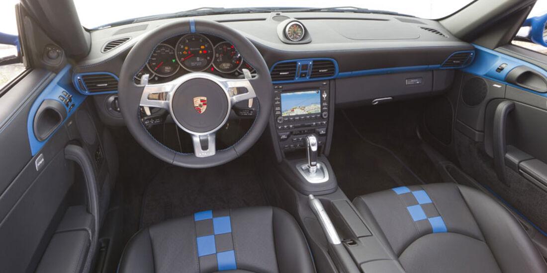 Porsche 911 Speedster, Cockpit