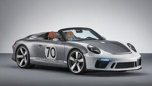 Porsche 911 Speedster Concept 2019