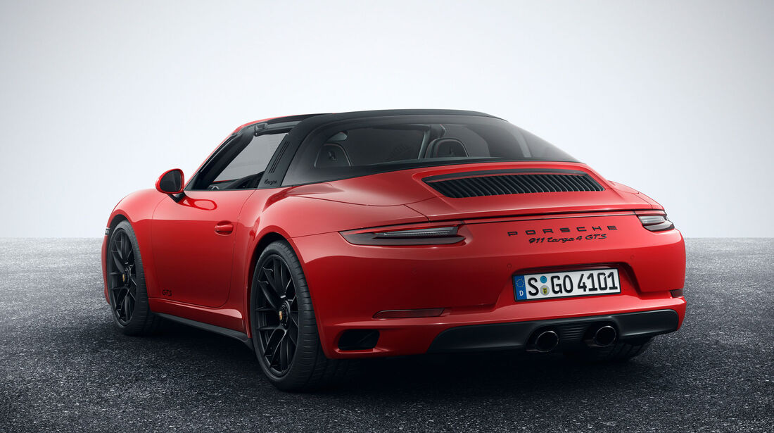 Porsche 911 Targa 4 GTS - Sportwagen - Turbo - Heckmotor