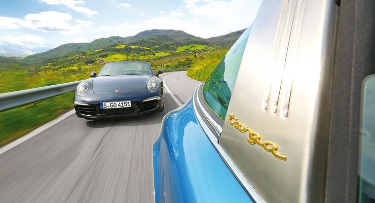 Porsche 911 Targa 4S, 911 S 2.2 Targa, Impression