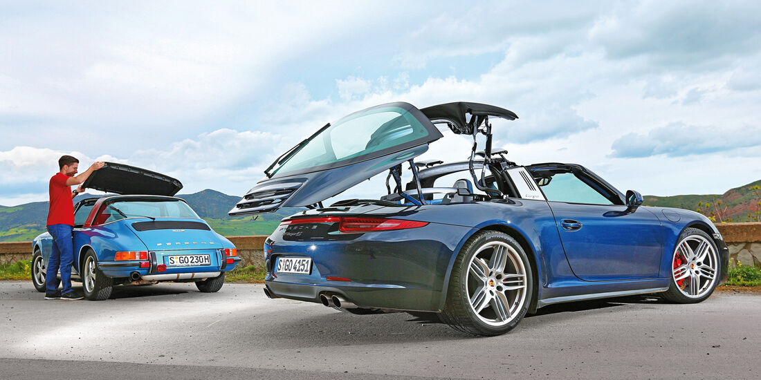 Porsche 911 Targa 4S, 911 S 2.2 Targa, Verdeck
