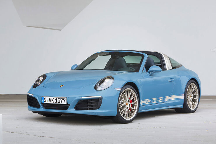 Porsche 911 Targa 4s Exclusive Design Edition Auto Motor