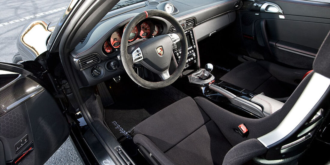 Porsche 911 Turbo Cargraphic Cockpit