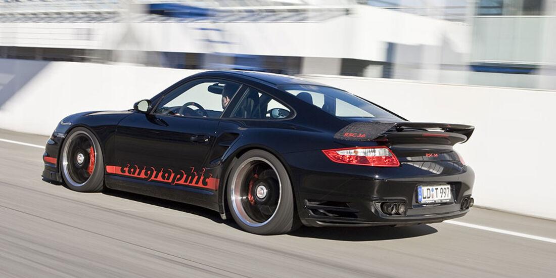 Porsche 911 Turbo Cargraphic