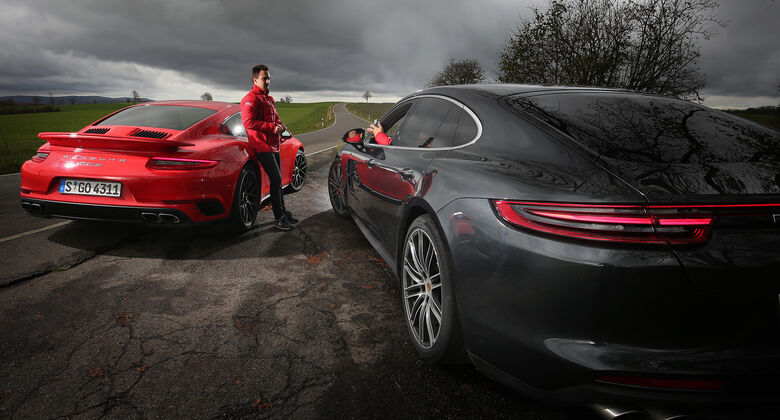 Porsche 911 Turbo, Porsche Panamera Turbo, Exterieur