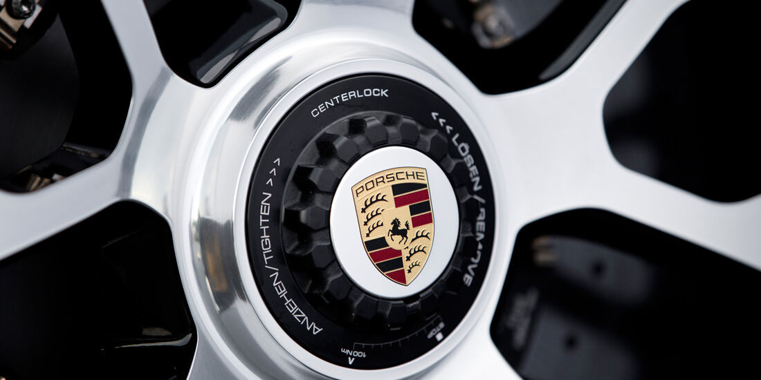 Porsche 911 Turbo S, Felge