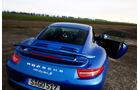 Porsche 911 Turbo S, Heckansicht, Heckflügel