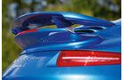 Porsche 911 Turbo S, Heckflügel
