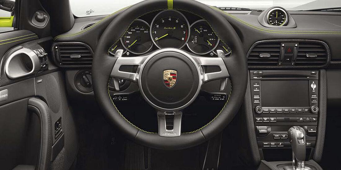 Porsche 911 Turbo S Porsche 918 Spyder Edition, Innenraum