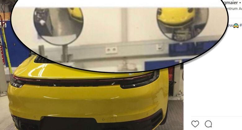 Porsche 911 leak 992 Instagram