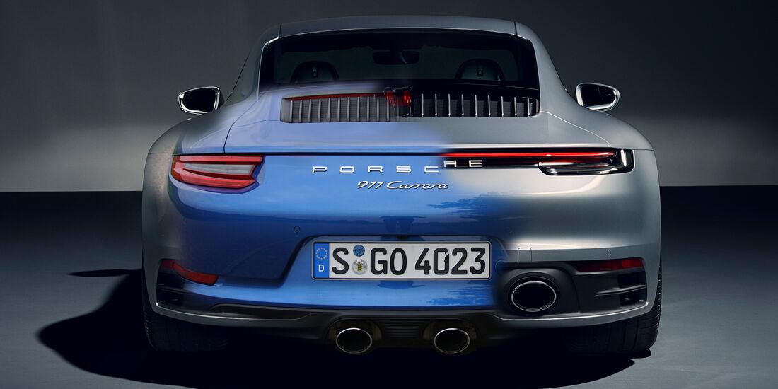 Porsche 911 vergleich 991.2 vs. 992