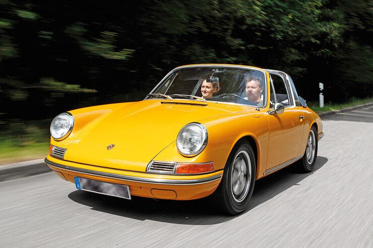 Porsche 912, Frontansicht