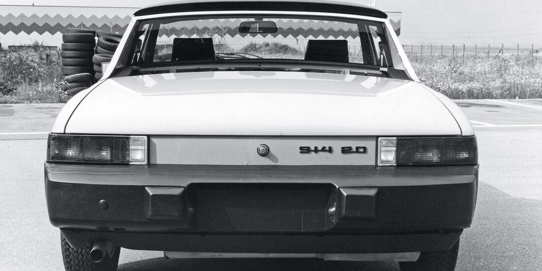 Porsche 914, US-Version, Heck