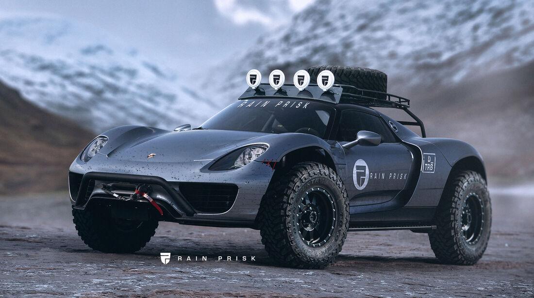 Porsche 918 Offroad - Fantasie-Auto