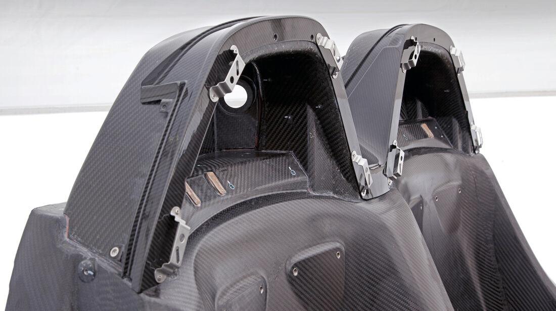 Porsche 918 Spyder, Carbonteile