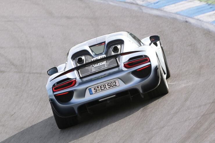 Rückruf Porsche 918 Spyder: Problem mit der Hinterachse