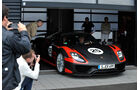 Porsche 918 Spyder, Motorhaube
