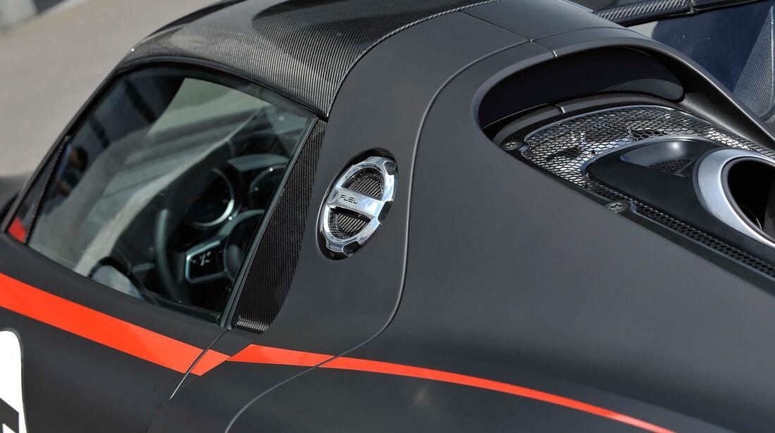 Porsche 918 Spyder, Tankdeckel